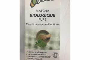 MATCHA BIOLOGIQUE PURE