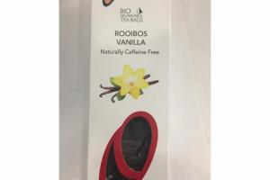 ROOIBOS VANILLA BIO DEGRADABLE TEA BAGS
