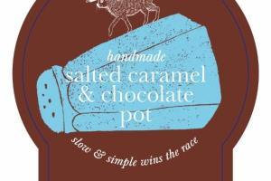 SALTED CARAMEL & CHOCOLATE POT