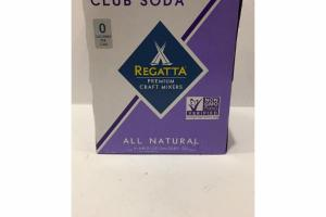 PREMIUM CRAFT MIXERS PACIFIC SEA SALT CLUB SODA