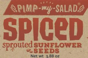 SPICED SPROUTED SUNFLOWER SEEDS