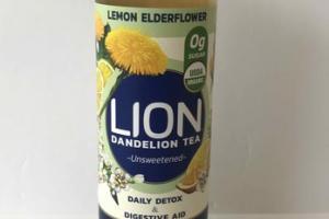 UNSWEETENED LEMON ELDERFLOWER DANDELION TEA