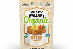 ORGANIC TROPICAL SOFT & CHEWY BITES MADE WITH REAL FRUIT JUICE