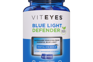 NATURAL BERRY FLAVOR BLUE LIGHT DEFENDER DIETARY SUPPLEMENT
