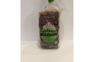 ORGANIC THIN - SLICED 22 GRAINS & SEEDS BREAD