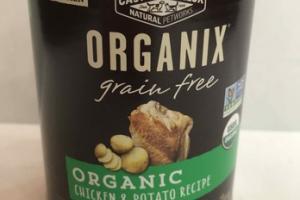 ORGANIC CHICKEN & POTATO RECIPE GRAIN FREE ADULT DOG FOOD