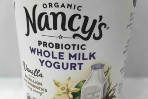 VANILLA PROBIOTIC WHOLE MILK YOGURT