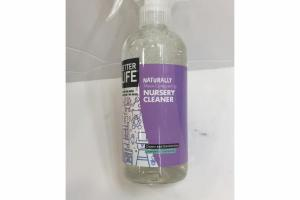LAVENDER & CHAMOMILE, CLEANS AND DEODORIZES NURSERY CLEANER