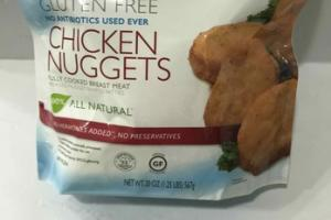 GLUTEN FREE CHICKEN NUGGETS