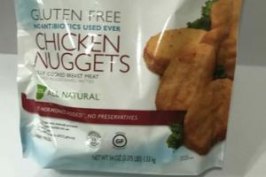 GLUTEN FREE CHICKEN NUGGETS FULLY COOKED BREAST MEAT