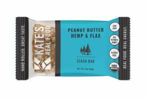 PEANUT BUTTER HEMP & FLAX STASH BAR