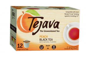 PEACH FLAVORED UNSWEETENED BLACK TEA