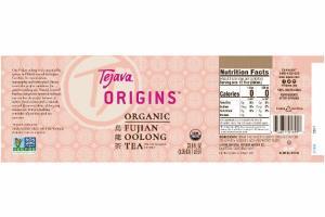 ORGANIC FUJIAN OOLONG TEA