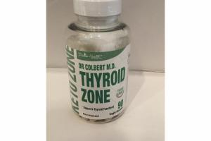 DR COLBERT M.D. THYROID ZONE DIETARY SUPPLEMENT VEGGIE CAPSULES