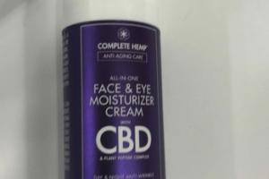 ALL-IN-ONE FACE & EYE MOISTURE CREAM WITH CBD