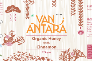 ORGANIC HONEY WITH CINNAMON