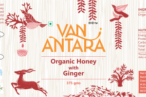 ORGANIC HONEY WITH GINGER