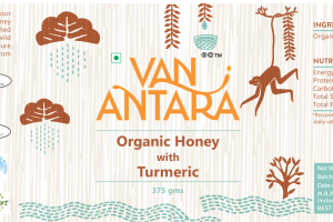 ORGANIC HONEY WITH TURMERIC