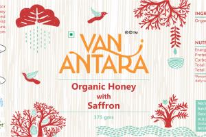ORGANIC HONEY WITH SAFFRON