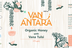 ORGANIC HONEY WITH VANA TULSI