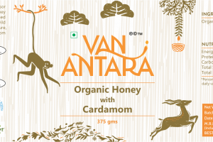 ORGANIC HONEY WITH CARDAMOM