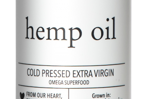 COLD PRESSED EXTRA VIRGIN HEMP OIL