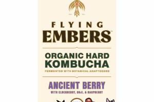 ANCIENT BERRY WITH ELDERBERRY, GOJI, & RASPBERRY ORGANIC HARD KOMBUCHA