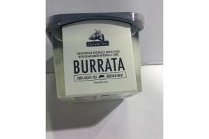 BURRATA 100% GRASS FED BUFFALO MILK