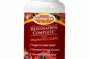 VITAMIN D3 & COQ10 DIETARY SUPPLEMENT VEGGIE CAPSULES