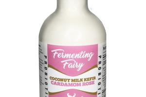 CARDAMOM ROSE PROBIOTIC COCONUT MILK KEFIR