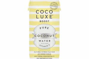 NATURAL CITRUS FLAVOR PURE COCONUT WATER