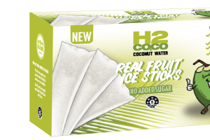 COCONUT WATER REAL FRUIT ICE STICKS
