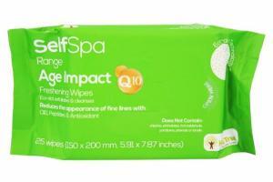 SELFSPA RANGE AGE IMPACT FRESHENING WIPES