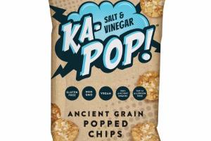 SALT & VINEGAR ANCIENT GRAIN POPPED CHIPS