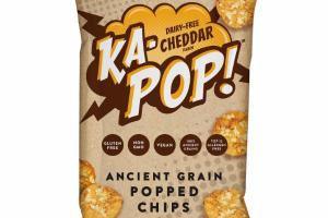 CHEDDAR ANCIENT GRAIN POPPED CHIPS