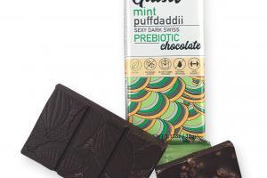 MINT PUFFDADDII SEXY DARK SWISS PREBIOTIC CHOCOLATE