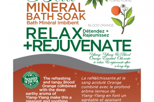 MINERAL BATH SOAK, RELAX + REJUVENATE