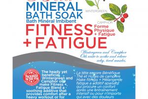 FITNESS + FATIGUE MINERAL BATH SOAK