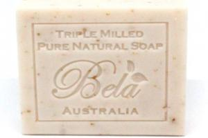 PURE NATURAL SOAP, OATMEAL MILK & BRAN