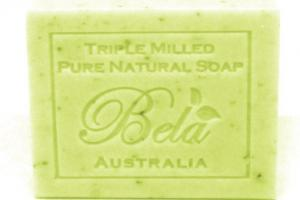LEMON MYRTLE WITH LEMONGRASS PURE NATURAL SOAP WITH ORGANIC SHEA BUTTER