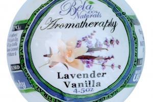 100% NATURALS AROMATHERAPY BATH BOMB, LAVENDER VANILLA