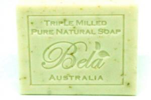 PURE NATURAL SOAP, SPEARMINT & BRAN