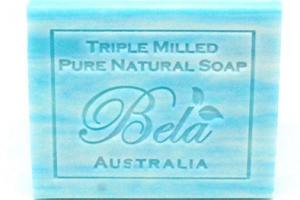 TRIPLE MILLED OCEAN BEACH PURE NATURAL SOAP WITH ORGANIC SHEA BUTTER