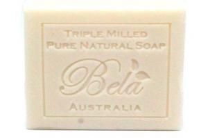 EXTRA CREAMY GOATS MILK TRIPLE MILLED PURE NATURAL SOAP WITH ORGANIC SHEA BUTTER