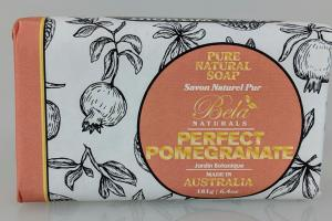 PURE NATURAL SOAP, PERFECT POMEGRANATE
