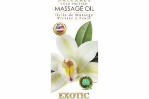 COLD PRESSED MASSAGE OIL, EXOTIC VANILLA