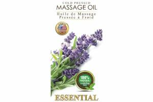 COLD PRESSED MASSAGE OIL, ESSENTIAL LAVENDER