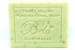 PURE NATURAL SOAP SPEARMINT & BRAN