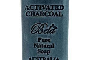 PURE NATURAL SOAP ACTIVATED CHARCOAL