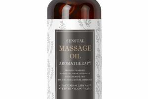 SENSUAL MASSAGE OIL AROMATHERAPY